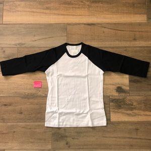 American Apparel NWT Long Sleeve Top